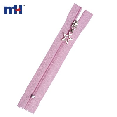 0220-88A #3 closed end nylon zipper