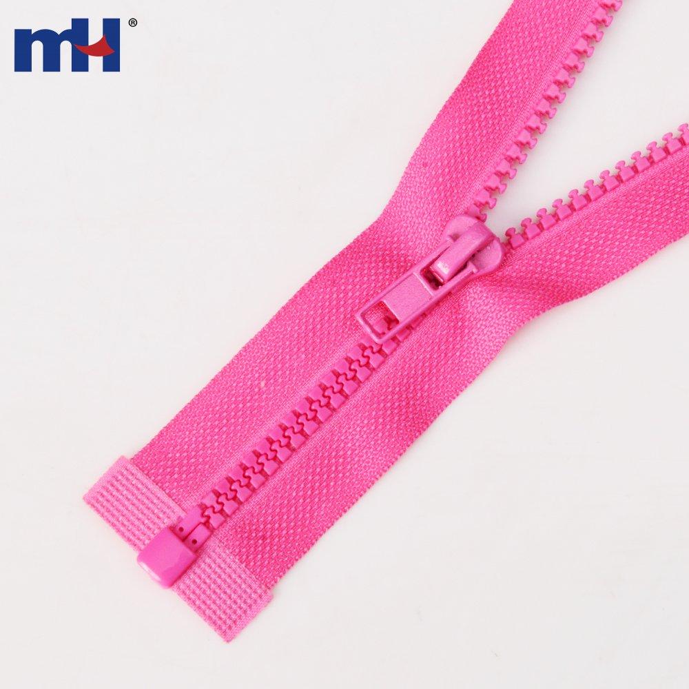 Resin zipper zippers