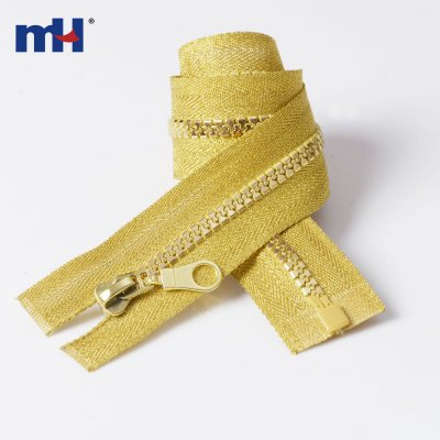 0231-4306 #5 Gold teeth zipper