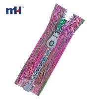 0231-4307 multi-color tape zipper