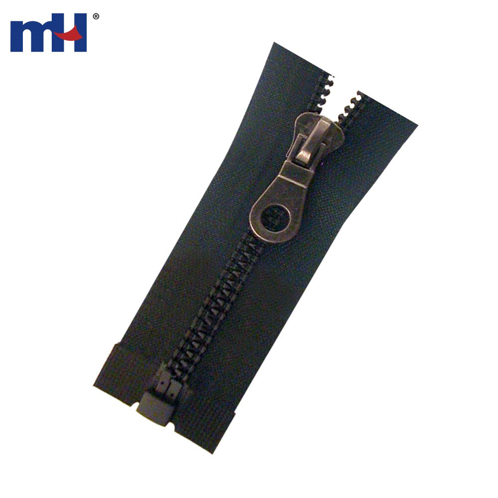 Heavy Duty Resin : Heavy duty plastic vislon jacket zippers manufacturer