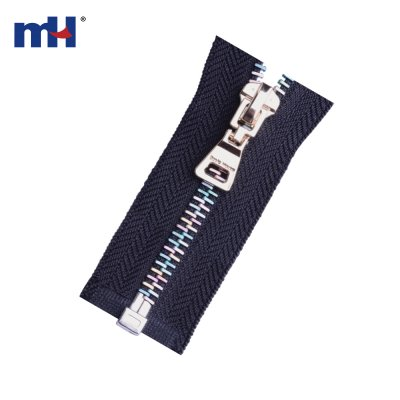 0283-20A rainbow teeth zipper