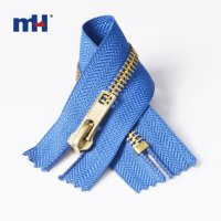 0250-0 #5 brass zipper