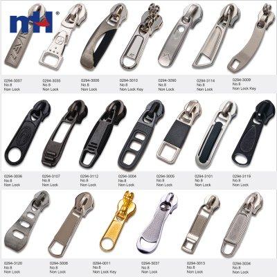 #8 coil non lock slider