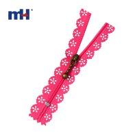 0220-8986 #3 Nylon Zippers, Lace Tape