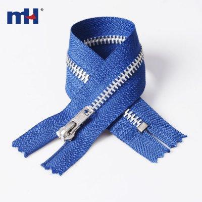 0282-51 #4 aluminum zipper