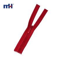 0286-63A #4 invisible zipper