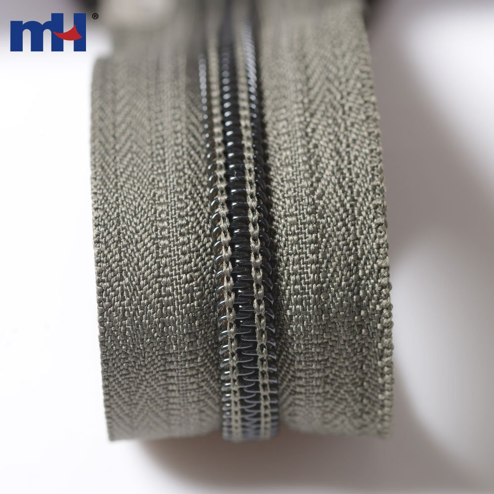 #5 Nylon Coil Non Separating Zippers Manufacturer In China
