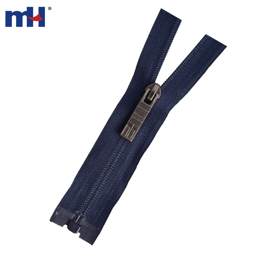 #5 Nylon Separating Reverse Coil Zippers Supplier