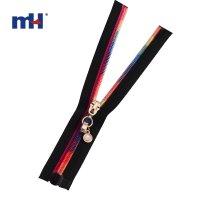 0287-9059 colorful teeth zipper