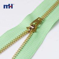 0245-20-1 #4 Brass zipper