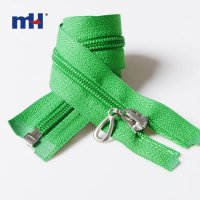 0222-0871-2 #5 open end zipper with cord